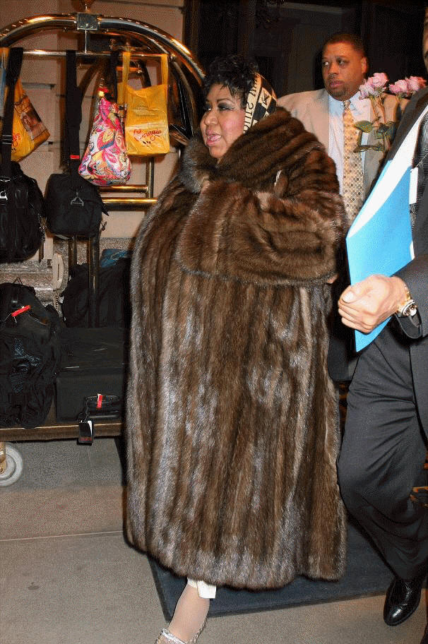 Fake faux fur and real asian flesh - 4 6